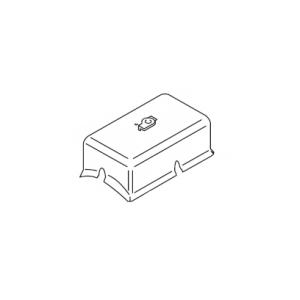Крышка защитная пластмассовая DBW 300, 2020, 160
