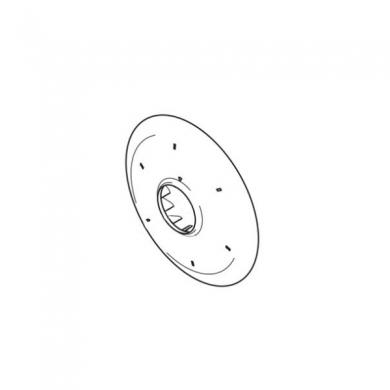 Колесо вентиляторное (крыльчатка) TE 230/320