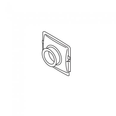 Кольцо пластмассовое к отопителю