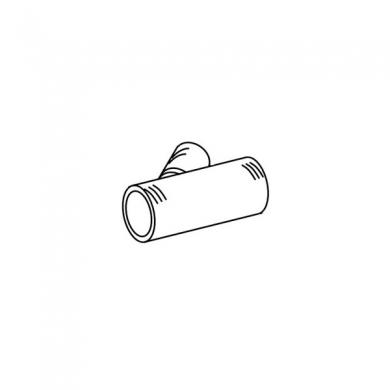 Тройник 90/60/90 мм (нерегул.) 45