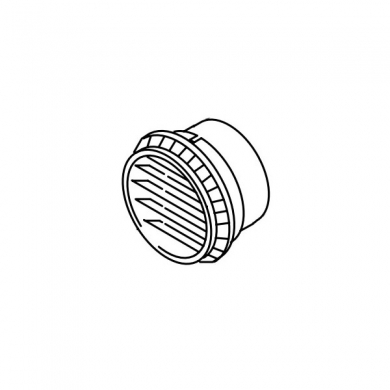 Дефлектор пластмассовый 90