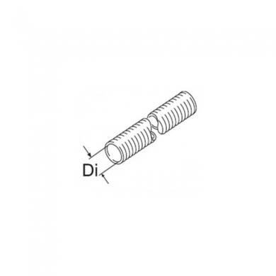 Гибкая труба 60 мм алюминиевая